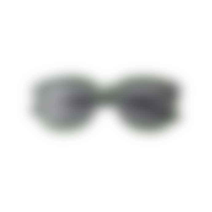 A Kjærbede Billy Dark Green Transparent Sunglasses