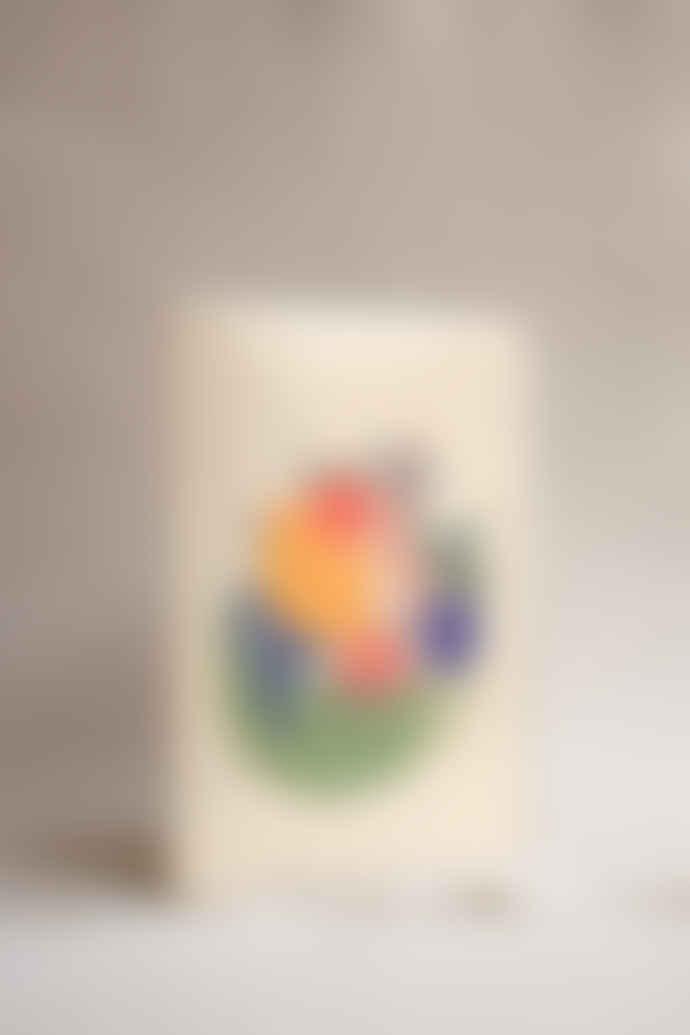 Wrap Magazine Fruit Bowl Card