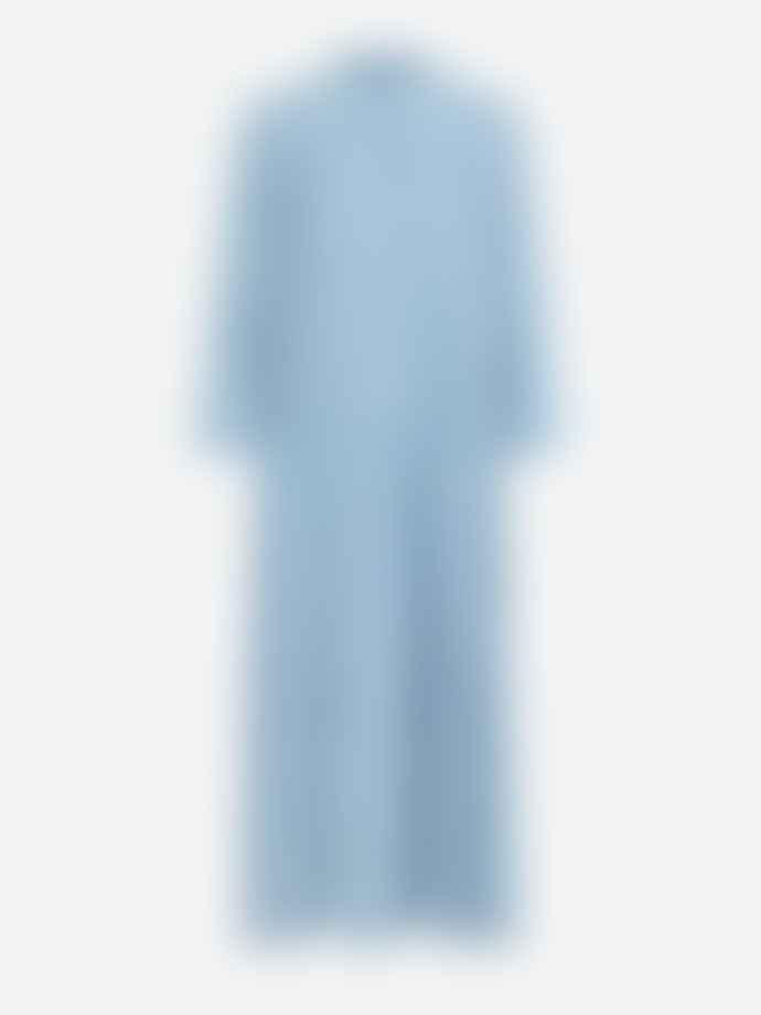 Samsoe Samsoe Elm Ml Dress Dusty Blue