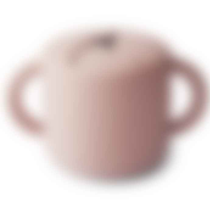 Mushie Snack Cup Blush