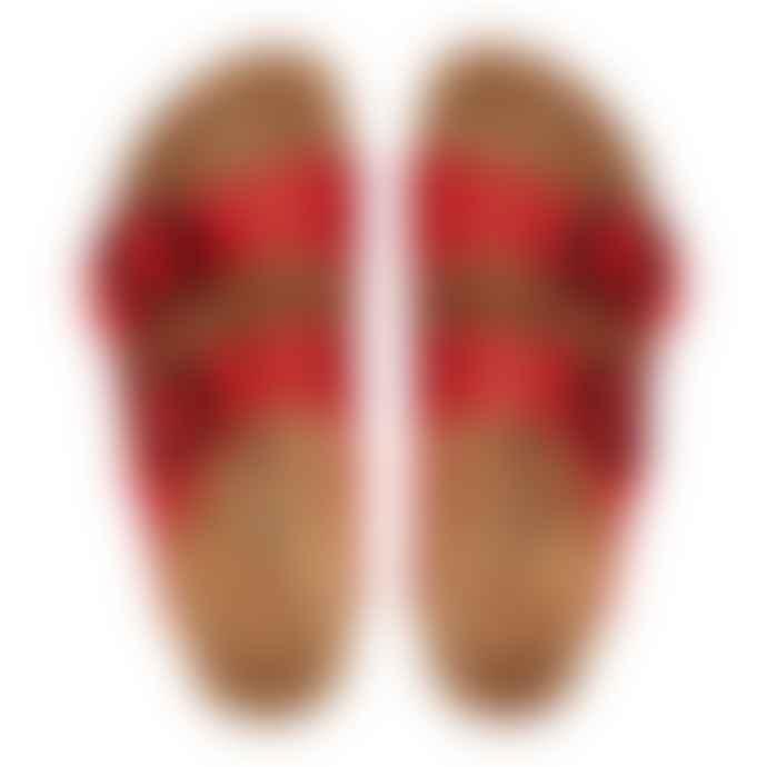 Birkenstock Arizona Patent Cherry Womens Sandal
