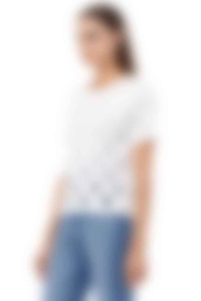 360 Cashmere Molie Skull Cotton T Shirt