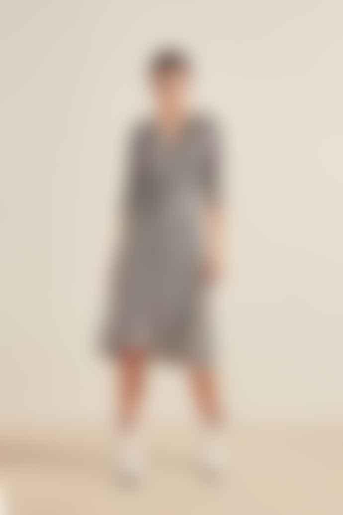 SUNCOO Robe Cleo Wrap Dress