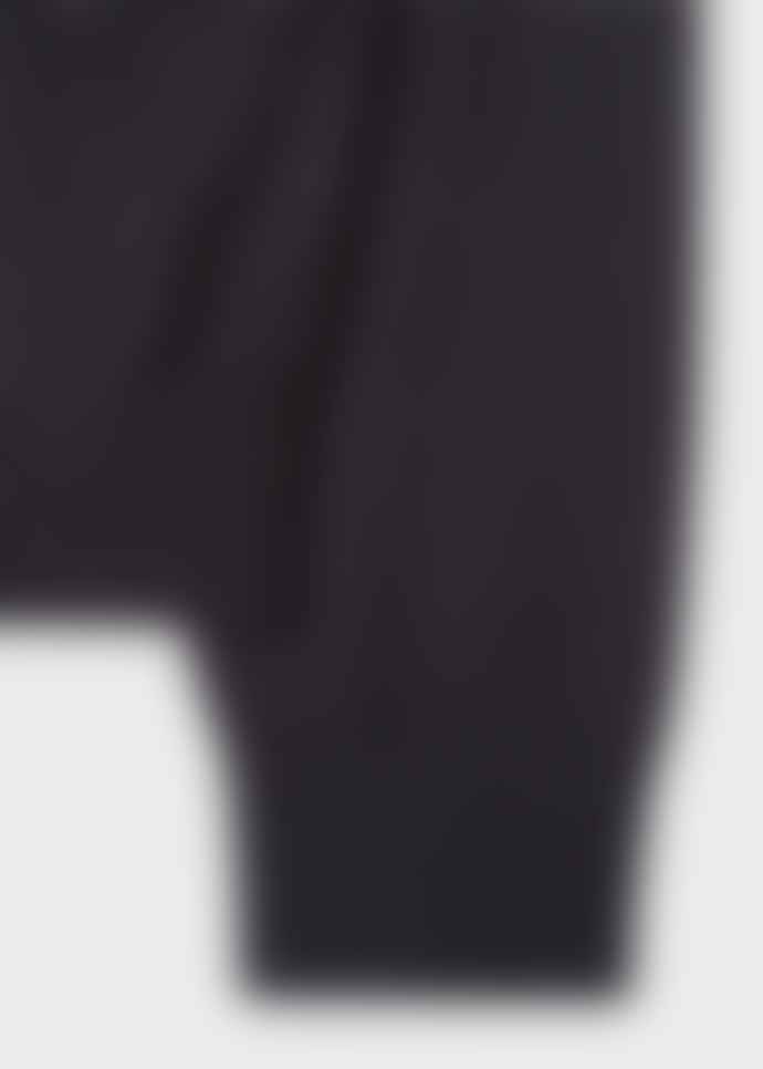 Paul Smith Navy Swirl Intarsia Womens Sweater