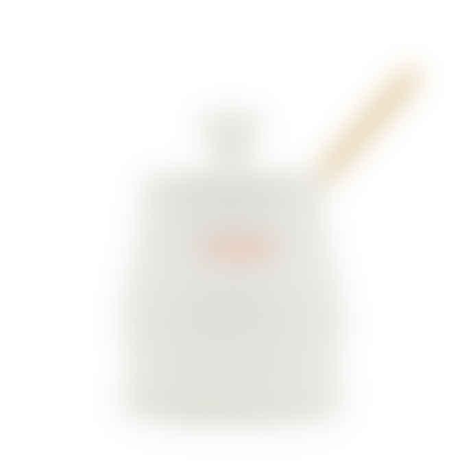 Make International White Porcelain Keith Brymer Jones Honey Pot