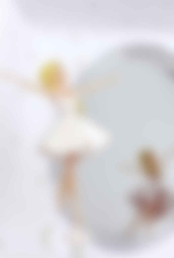 Trousselier Ballerina Phosphorescent Cube Music Box
