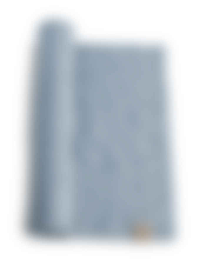 Lovely Linen Dusty Blue Linen Table Runner