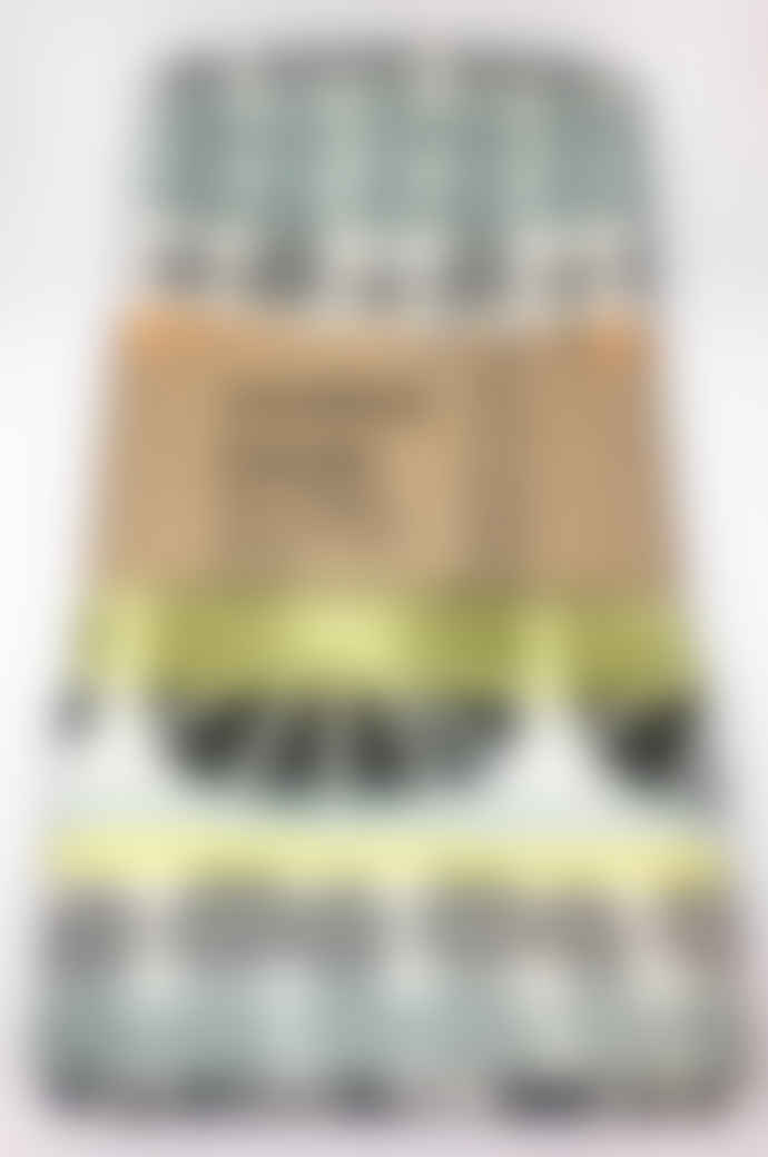 Mustard House Sunburst Stripe Cotton Tea Towel