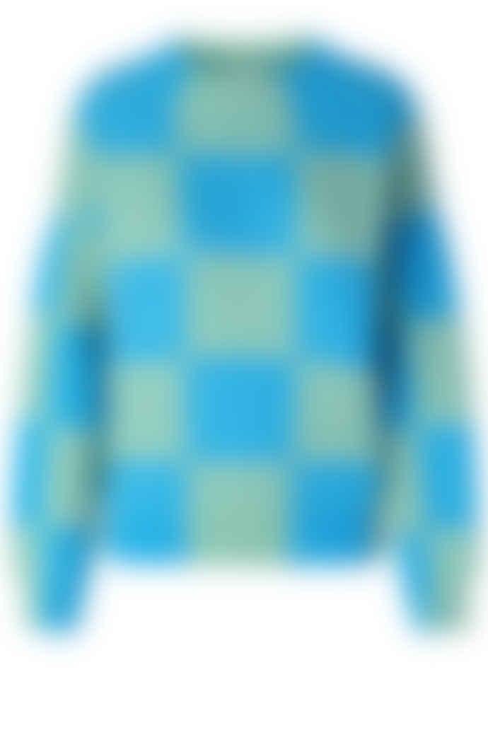 Stine Goya Adonis Sweater - Aqua