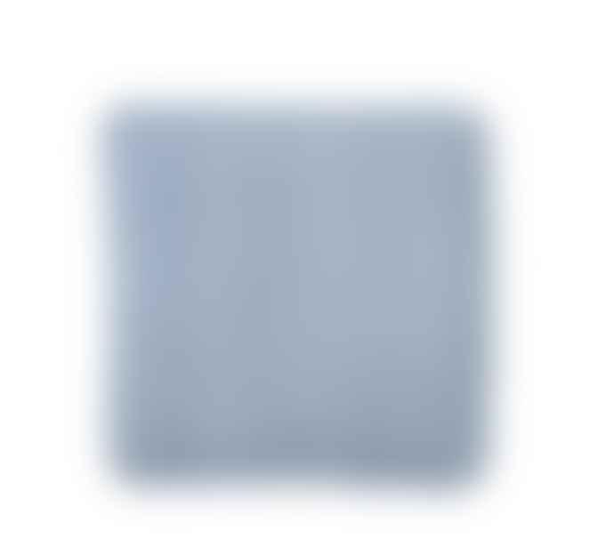 Bungalow DK Linen Seat Cushion Light Blue