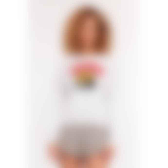 Roseanna  White Sweater Louis Sunset
