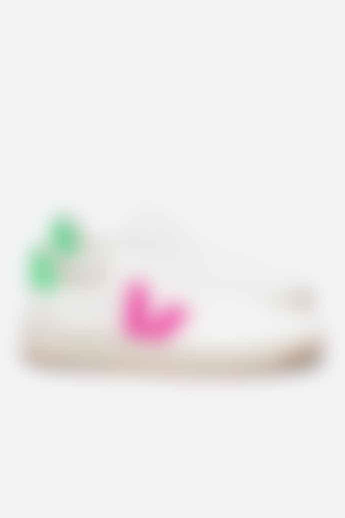Veja V 12 B Mesh White Sari Absinthe Womens Shoes