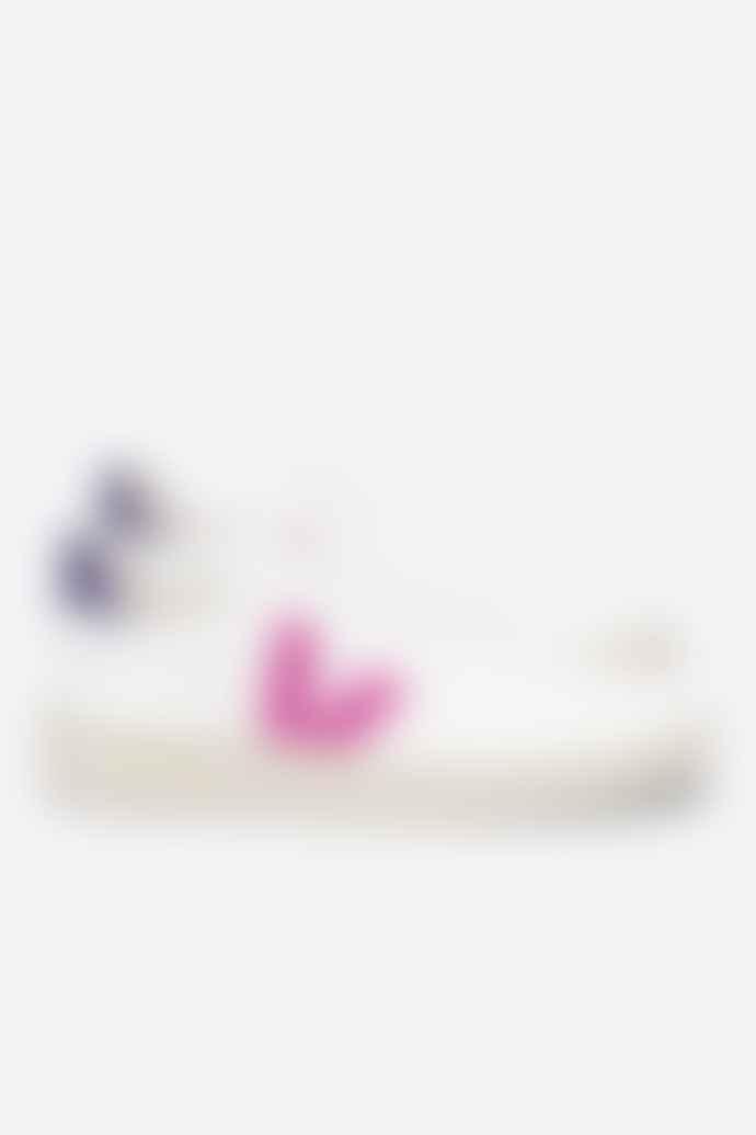 Veja V 10 CWL White Ultraviolet Purple Womens Shoes
