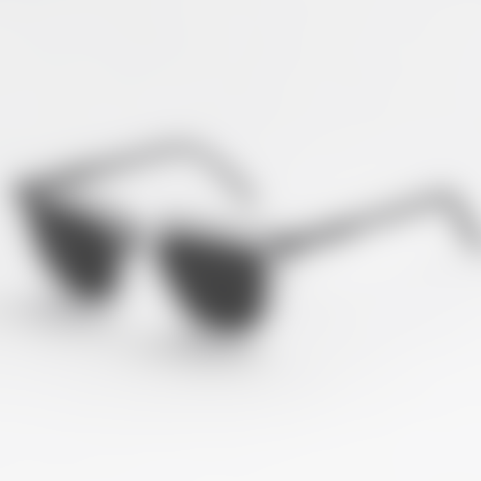 Monokel Eyewear Robotnik Crystal Solid Green Lens