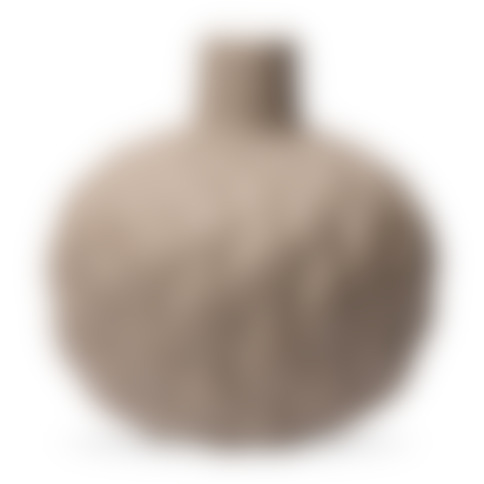 Lindform Astrid Relief Vase XXL Beige