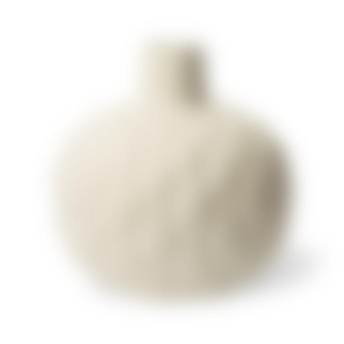 Lindform Astrid Relief Vase XXL White