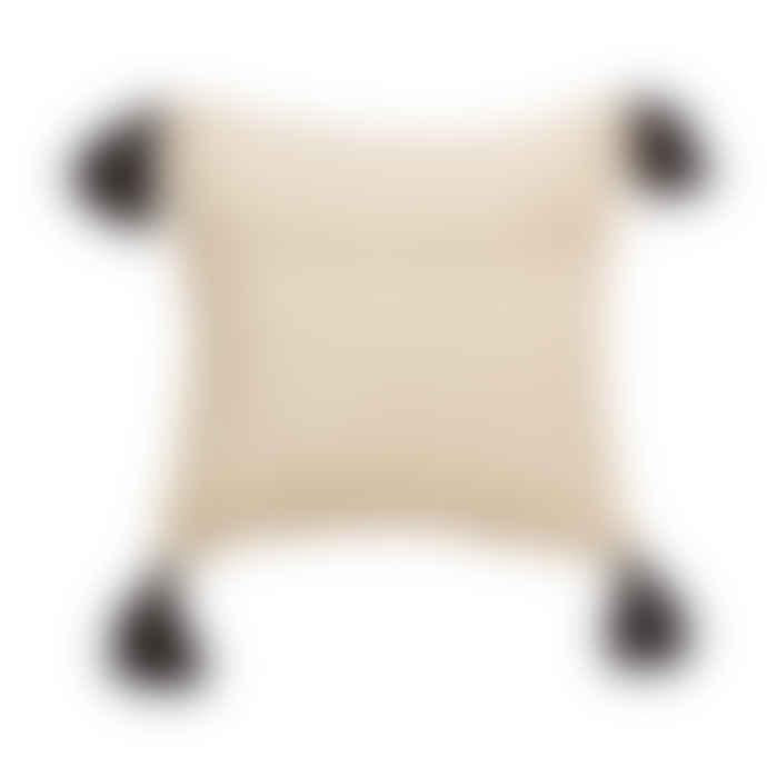 Sass & Belle  Block Print Tassel Cushion