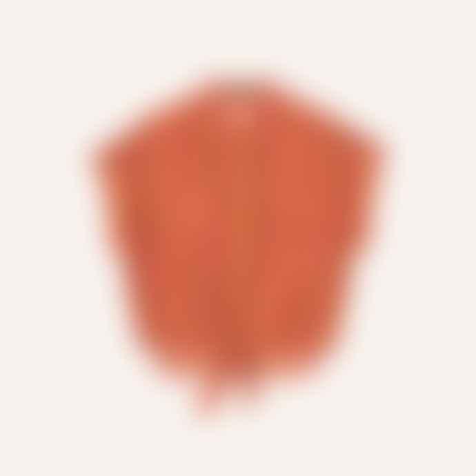 FRNCH Multi Orange Shirt Celene