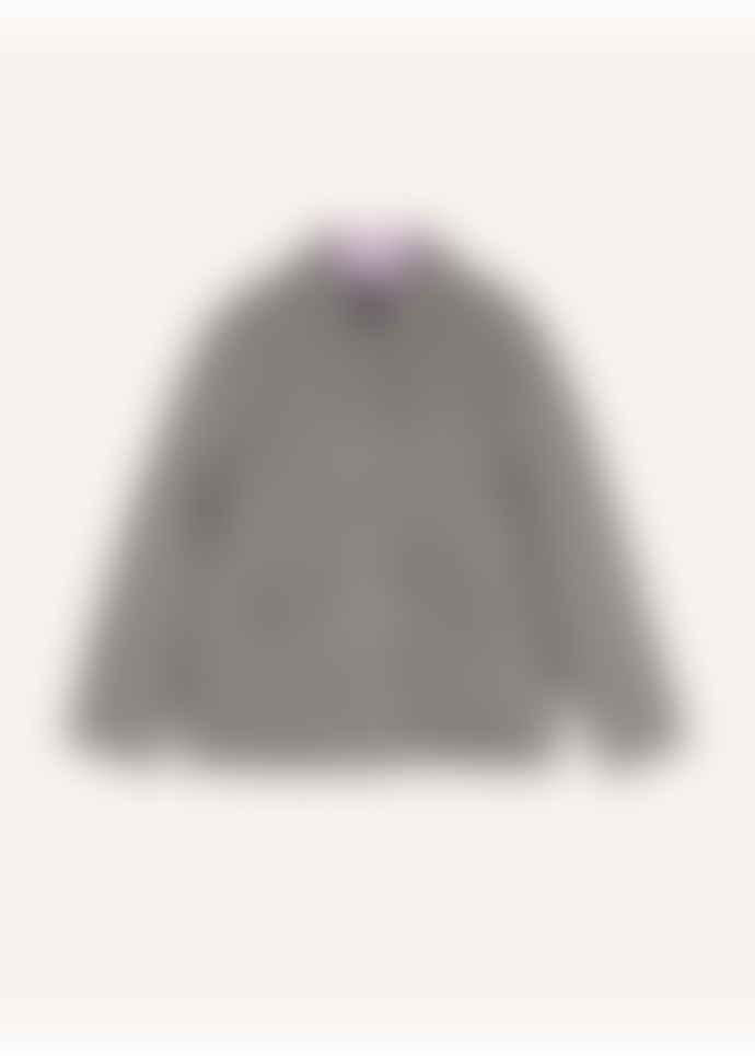 FRNCH Black White Gingham Jacket
