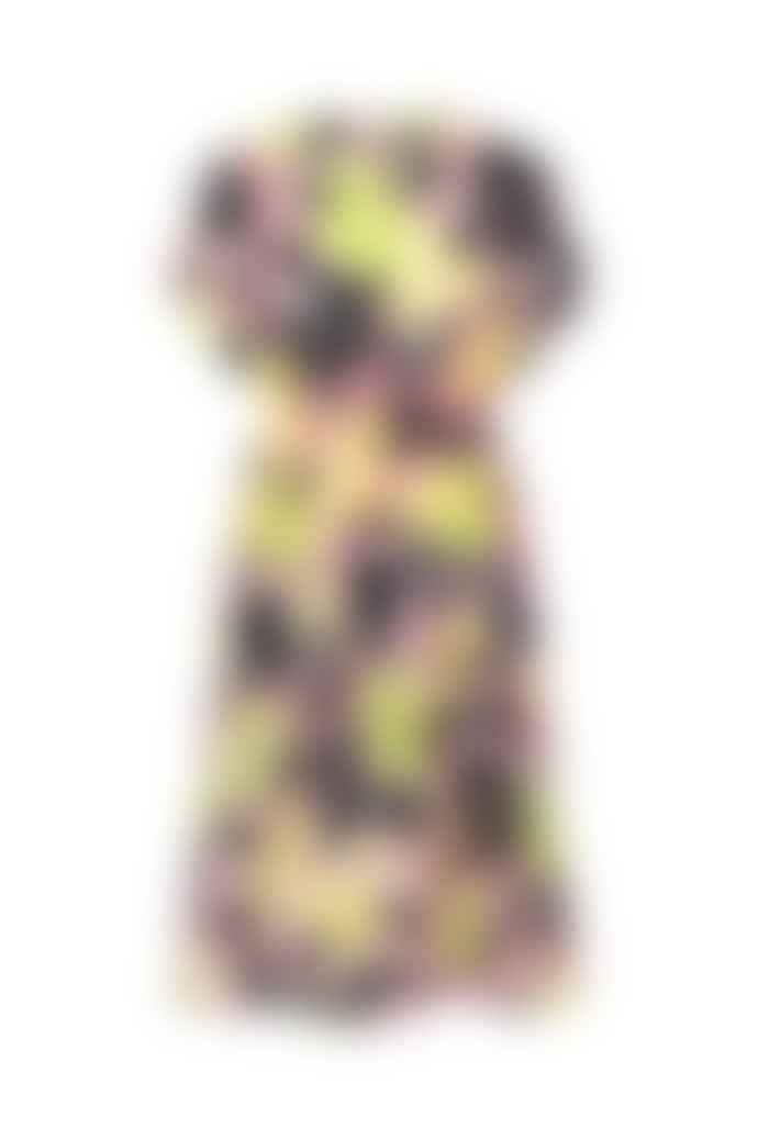 Stine Goya Jordan Dress In Watercolour Flora