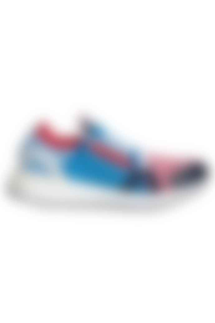 Adidas X Stella McCartney Ultraboost 20 Shoes Bright Blue Collegiate Navy Vivid Red