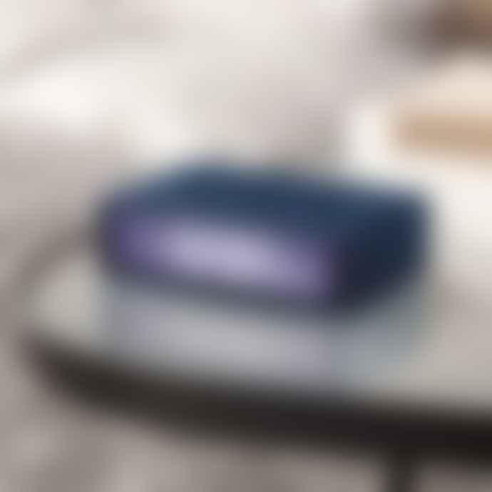 Lexon Flip+ Radio Controlled Alarm Clock Duck Blue
