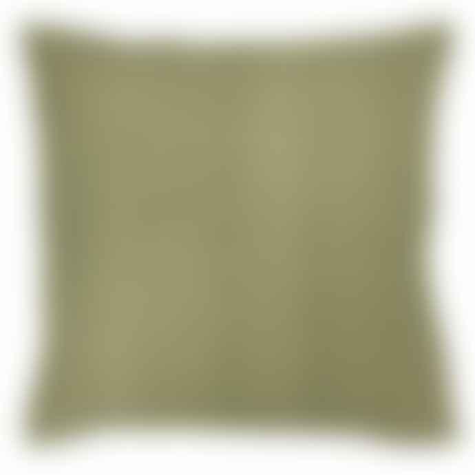 Bungalow DK Linen Cushion Cover 50x50cm  Celery