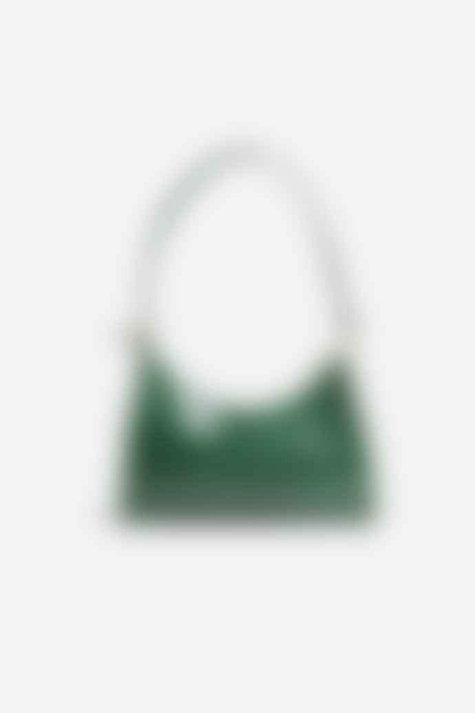 Collection & Co Lucia Mini Green Croc Bag
