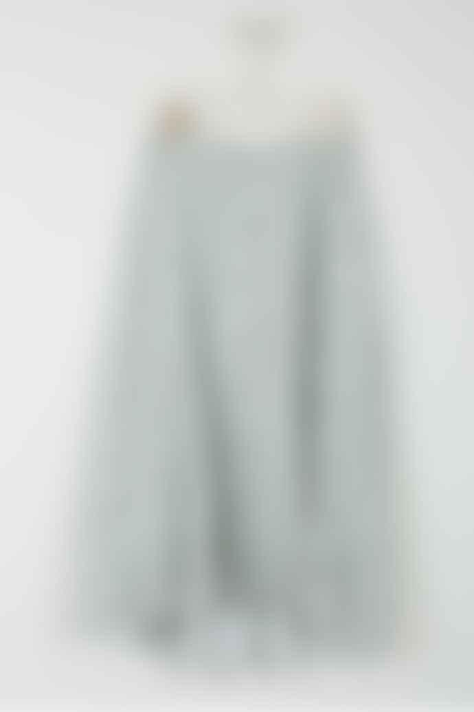 Indi & Cold Print Midi Skirt In Agua