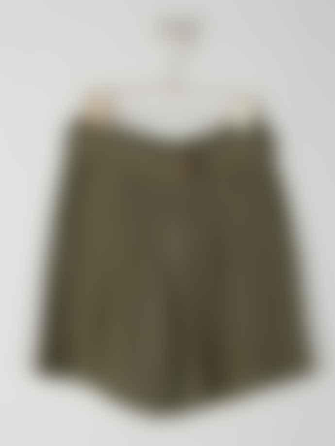 Indi & Cold Fluid Shorts Khaki