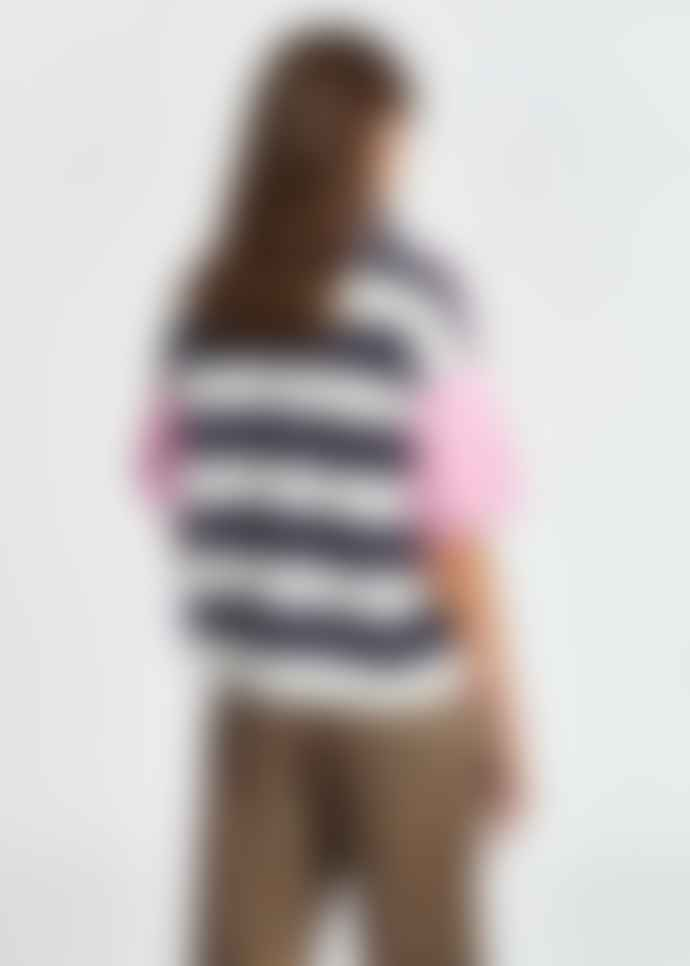 Essentiel Antwerp Zrad Pink Short Sleeved Jumper