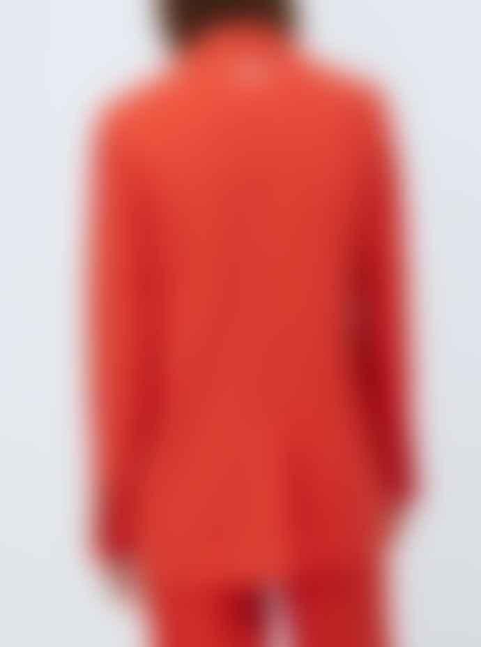 Pepe Jeans Lola Oversize Blazer Mars Red