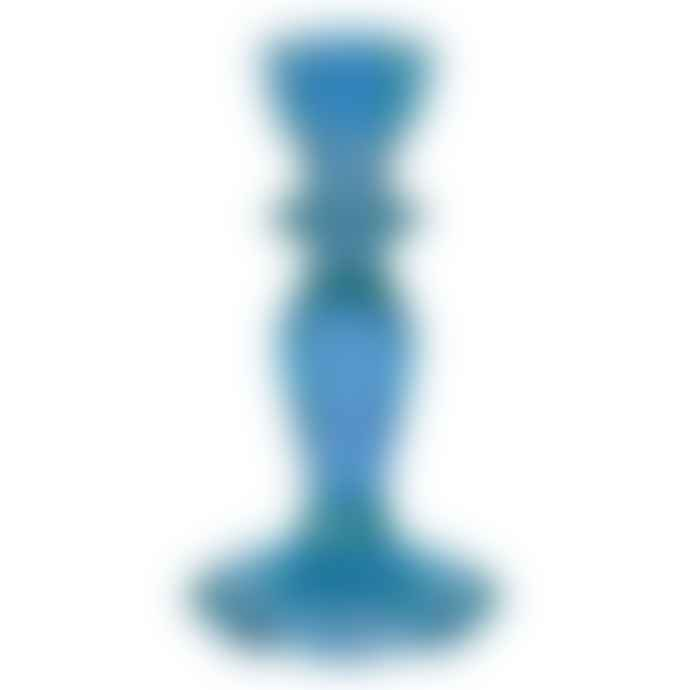 Talking Tables Blue Glass Candle Holder