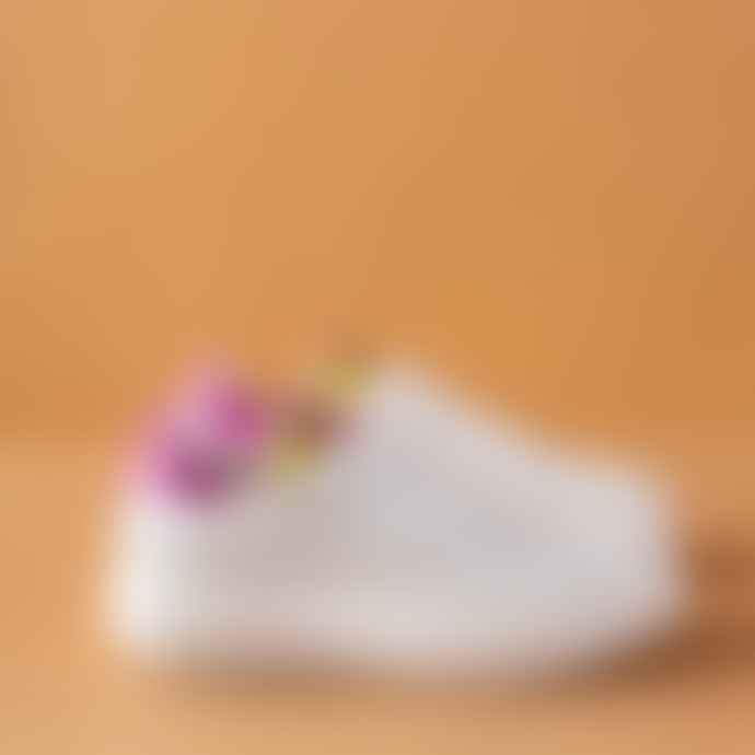 Melines Galaxy Bianco Trainers Shoes