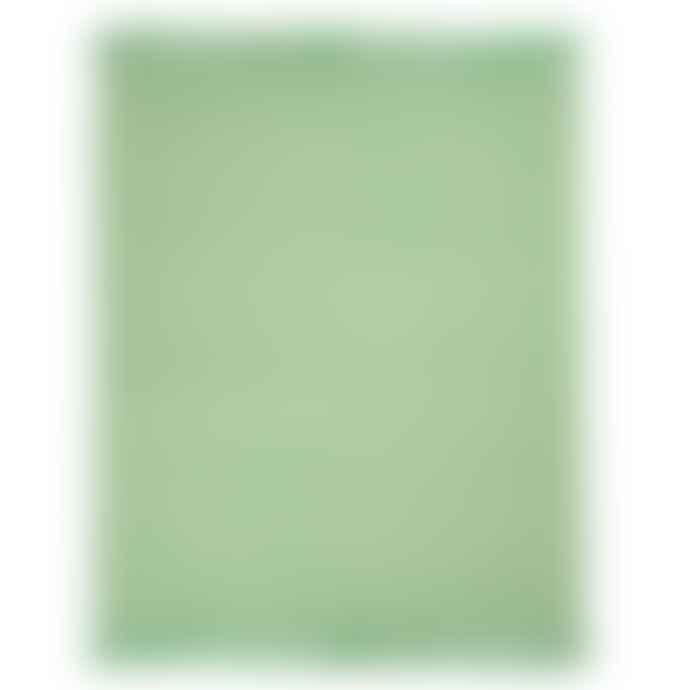 Sass & Belle  Green Herringbone Blanket Throw
