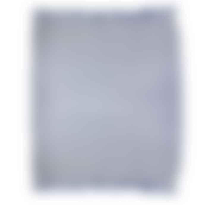 Sass & Belle  Blue Herringbone Blanket Throw