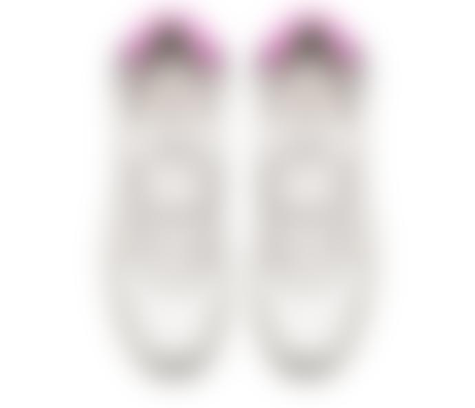 D.A.T.E Luna Sneakers Soft White Fuxia
