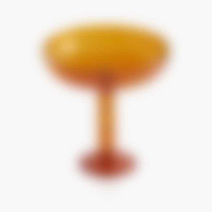 Maison Balzac Volute 'Serviteur Muet' Platter - Amber