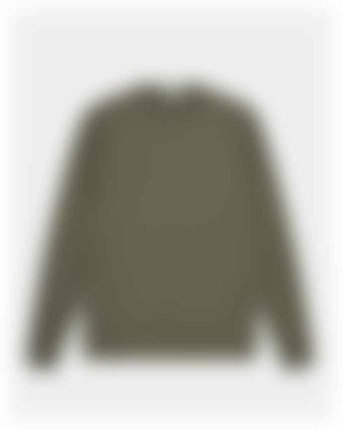 CLOSED Green Gray Cotton Crewneck Jumper