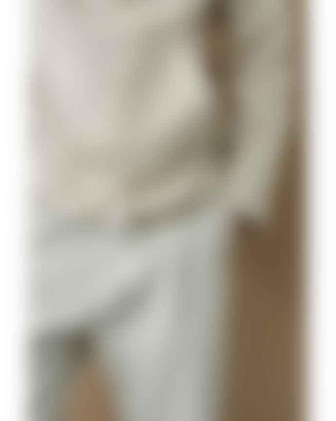 CLOSED Stratus Gray Stand Up Collar Sweatshirt