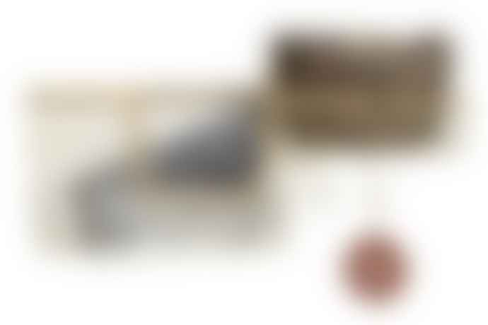MADAME SOTLZ Iron And Jute Wall Shelf With Hooks