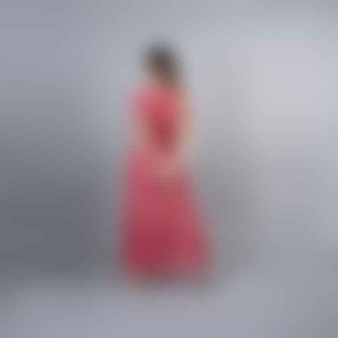 Nooki Design Aruba Maxi Beach Dress Pink