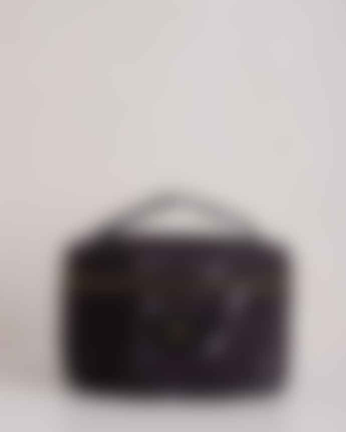 Wouf Beauty Bag Marble Xl Black