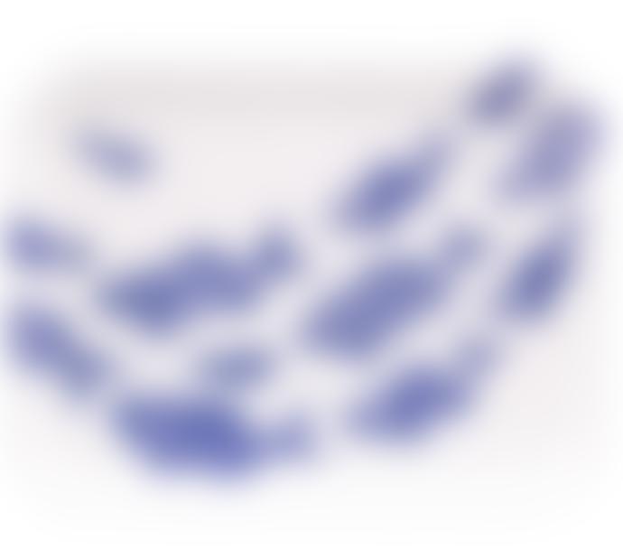 Jamida Shoal Of Fish Blue & White Ary Tray 43x33cm