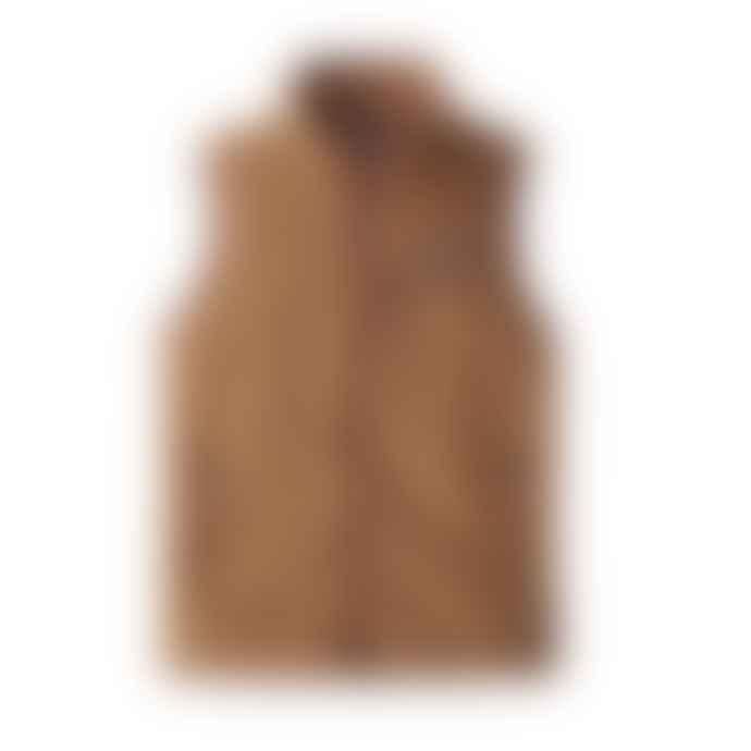 Patagonia Beech Brown Woman Retro Pile Vest