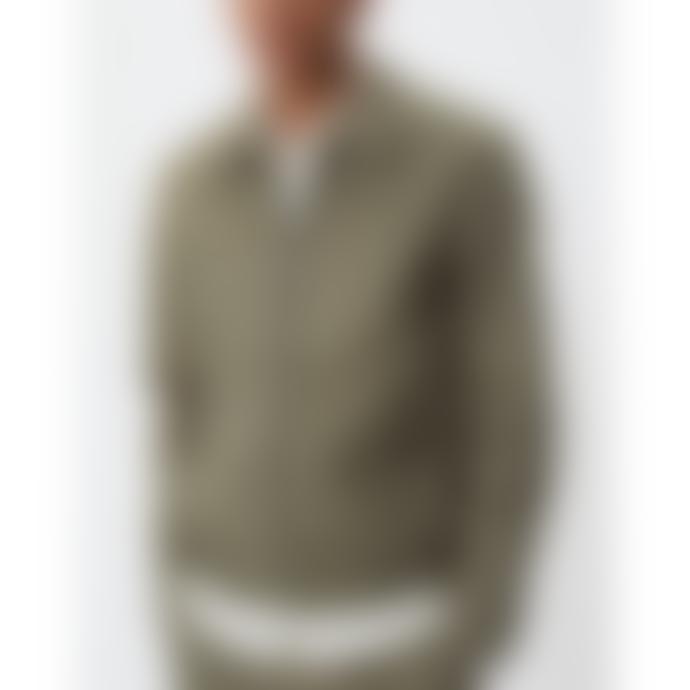 Les Deux Morris Herrington Jacket Lichen Green