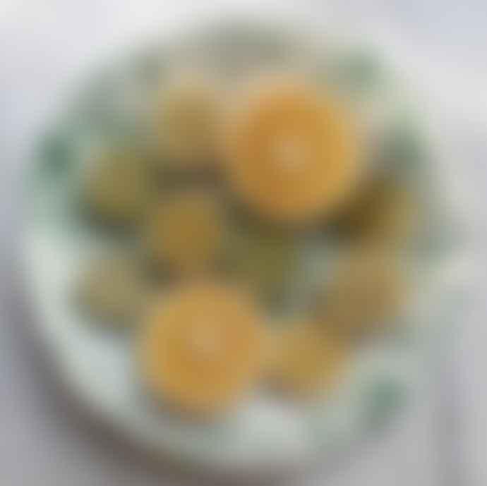 Hot Pottery Pistachio Ceramic Shallow Serving Bowl