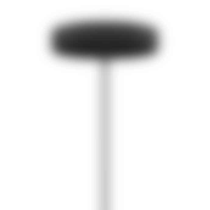 UMAGE Mini White Feather Eos Pendant Shade with Black Rosette Cord Set