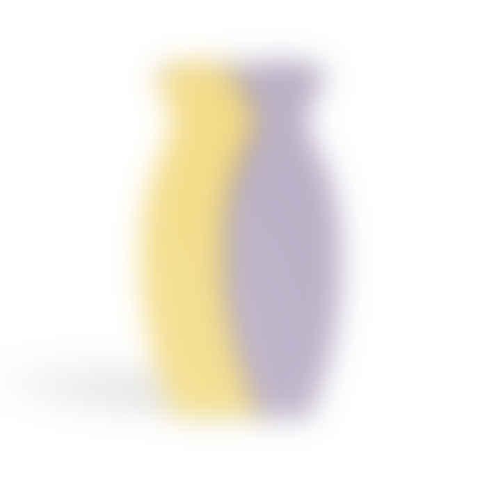 &klevering Yellow Lilac Fuse Vase Set