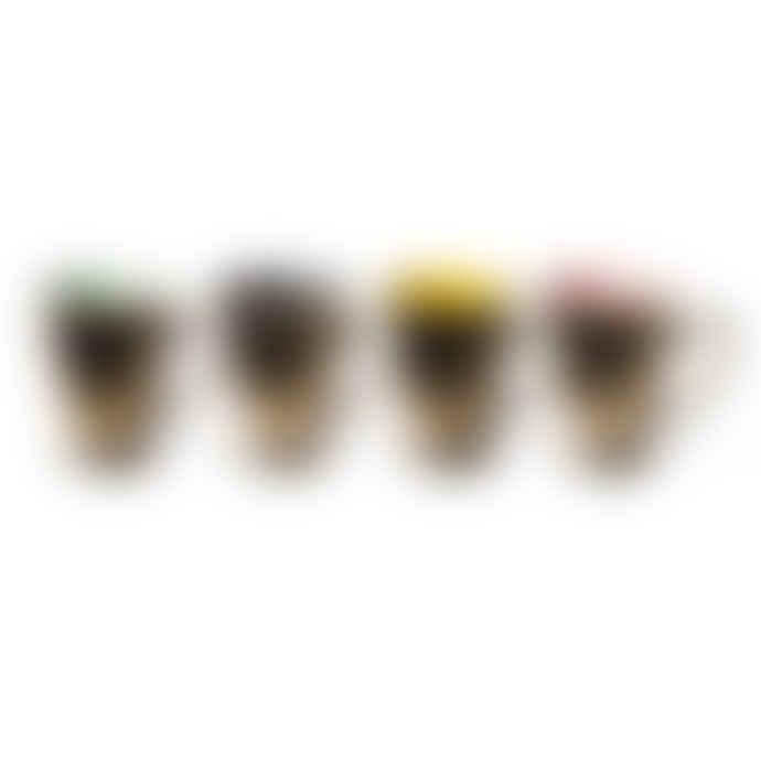 Pols Potten Mugs Legacy Set 4 Gold
